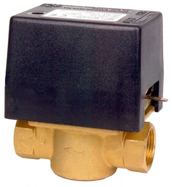 """Elektrický dvoucestný ventil. Připojení 3/4\"""" in 230 V"""