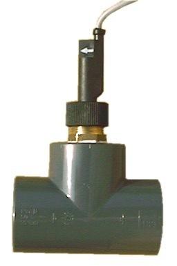 Průtoková klapka v T-kusu d50 mm