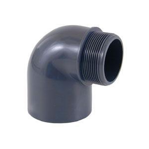 Koleno 90° D 63 mm - lepení a vnější závit