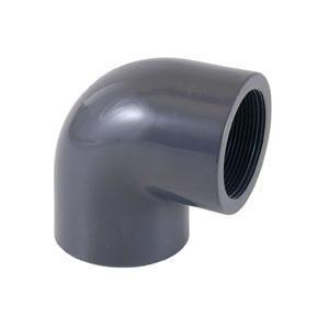 Koleno 90° MIX D 63 mm lepení / závit